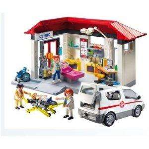 Playmobil Medical Centre and Ambulance - Half Price & Part of the 3 for 2 - £34.99 delivered to store @ Boots