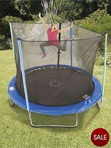 9ft Trampoline & Enclosure! £114.50 @ Very