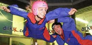Indoor Skydiving Experience - including DVD & Photo - £22.95 at AirKix (Groupon)