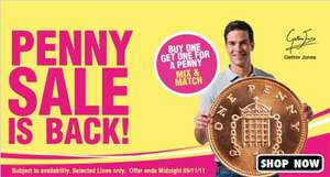 Buy one Get One for One Penny@ Holland and Barrett Online and In Store
