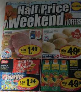 Lidl half price weekend deals 29th-30th October & other deals from 27th Oct