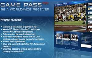 NFL Game Pass £64 from LivingSocial (today only)