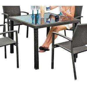 4 SEATER JAVA RATTAN OUTDOOR TABLE £25 INSTORE @ LATIFS BIRMINGHAM
