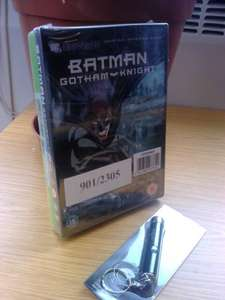 EXPIRED - Batman Arkham City (Xbox 360 & PS3)+ Batman Gotham Knight Movie + Batman Projector Keychain £36.99 @ ARGOS