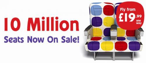 Flybe.com - 10 Million seat sale