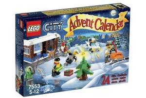 Lego City advent calendar only £13.49 delivered at Amazon