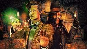 Doctor Who - The Gunpowder Plot (Adventure Game for PC) free to download from 31/10/11 @ BBC
