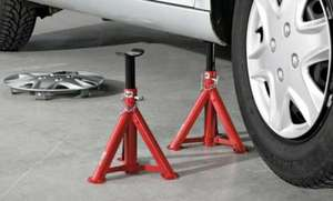 Ultimate Speed Axle Stands - 2 pack  £9.99 @ Lidl