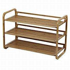 3-tier Shoe Rack Bamboo £16.25 @ Sainsburys (using Click & Collect)