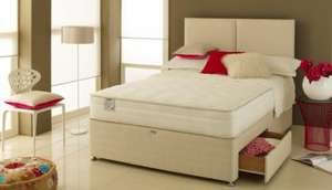 Airflow 2000 King Size 2 Drawer Divan Bed Set £599.00 @ Bensons for Beds