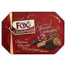 Better than half price luxury biscuit tins £5.00 @ Tesco (instore and online)