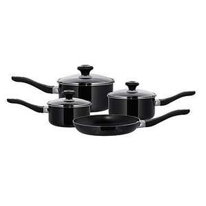 Meyer Prestige Non-Stick Four Piece Pan Set Was £130.00 Now £33.15 Using HRT1 For Extra 15% Off Code + SHD1 For Free Delivery Online @ Debenhams (Plus 3% Quidco)