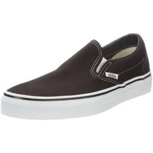 VANS unisex slip-ons 20% off; from £21.74 @ Javari. Also big savings on Diesel/Converse, starting at £16