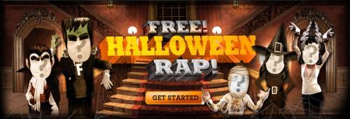 JIB JAB free halloween rap ecard