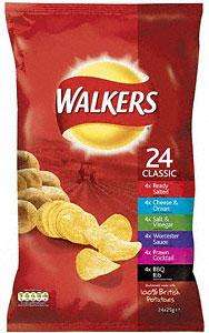 "Walkers 24 Pack of Crisps - £3 @ Co-op (Instore) - 25p Cheaper than Tesco - ""Every Little Helps!"""