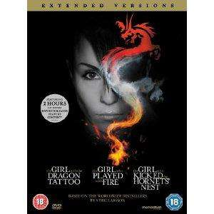 The Girl...Trilogy - extended versions £12 ASDA.(DVD).using code