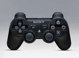 Sony Dualshock 3 Controller Black £20.24 (free postage) at PriceMinister