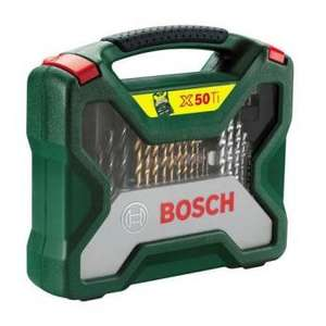 50% off Bosch Accessory Set X Line 50 Piece Drill and Screwdriver kit @ B&Q Online and Instore £15.00