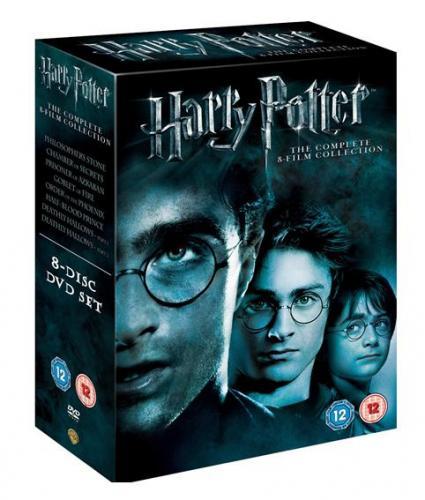Harry Potter - The Complete 1-8 BOXSET [DVD] [2011] £25.50 Pre order @ Amazon
