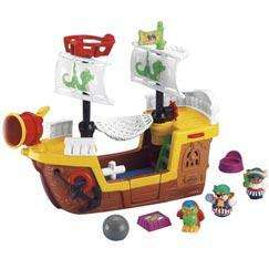 Fisher-Price Little People pirate ship half price at Argos now just £14.99. R&C