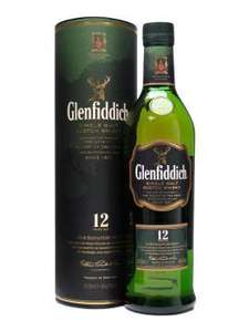 Glenfiddich 70cl 12 year old single malt whisky now £20, (use voucher to buy for £18) was £32.97 at Morrisons