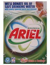 42 wash Ariel washing powder £5.99 instead of £9.49 @ Lidl