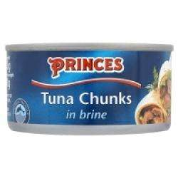 Princes Tuna Flakes In Brine 39p 185g @ Home Bargains