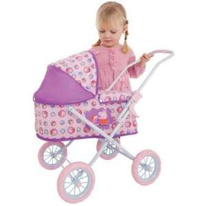 New Peppa Pig Mini Junior Girls Doll Pram - only £19.94 delivered @ Net Price Direct on eBay