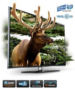 "Samsung UE46D6750WKXXU 46"" 3D LED TV £1032 inc VAT with 5yrs warranty and 5 pairs of Glasses +Megamind Blueray at Costco"