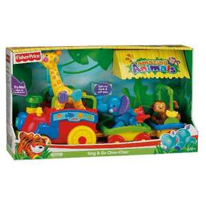 Fisher Price Amazing Animals Choo Choo Train,£22.99 from Tesco Online and in Clubcard Exchange too!
