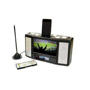 Disgo Portable 7 inch LCD TV with Freeview, Radio and iPod Dock with video playback & remote - only £59.99 delivered @ Amazon