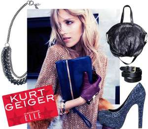 FREE £20 gift card for Kurt Geiger with Elle Magazine