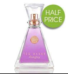 Ted Baker Langley Woman Eau de Toilette 75ml - 1/2 Price £22.50 at Debenhams