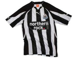 Newcastle United Home 10/11 Football Shirt @ £9.99 delivered Match Mag
