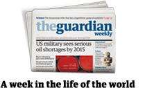 Get 6 issues of the Guardian Weekly for just £1 delivered