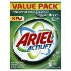 Ariel actilift bio powder 80 washes £10 at Sainsburys and £1 off coupon from supersavvyme