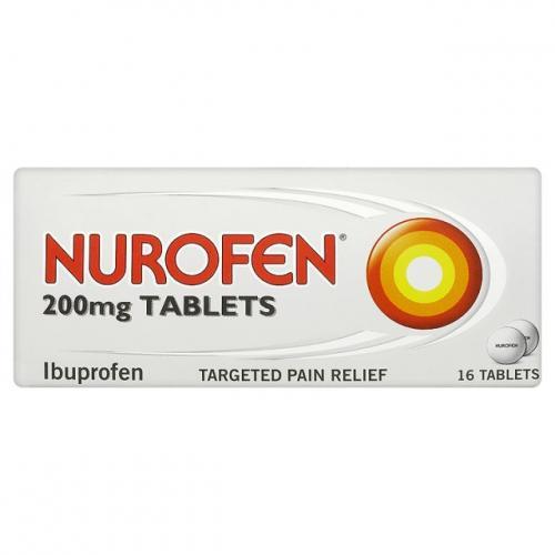 Nurofen 200MG Tablets 16 Pack - 25p @ Lidl