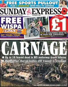 Sunday newspaper offers - see post - Express/ Star/ Telegraph/ People