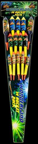 All Fireworks Half Price at Morrisons - Wonderland 14 Rocket Pack for £4... 3 packs of sparklers for 75p!