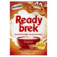 Weetabix Ready Brek Cereal 500g Half Price £1 @ Asda Instore