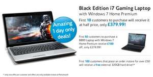 i7 Gaming Laptop with Win 7 for £380 and More @ Novatech