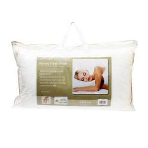Memory Foam Pillow, £6.95 @ TJ Hughes