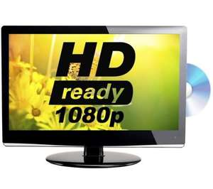 "LOGIK L22LDVB21 22"" Full HD LED TV with Built-in DVD player @ Currys"