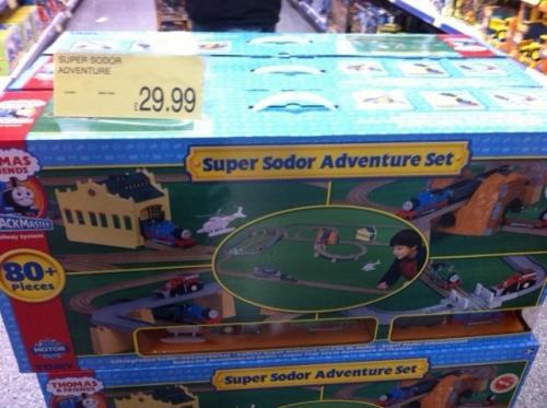 Half Price Thomas & Friends Super Sodor Adventure Set - £29.99 @ B&M Bargains (Instore)