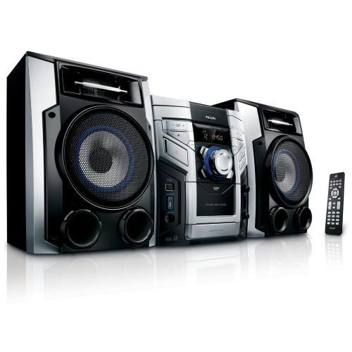 PHILIPS FWM387 HI-FI SYSTEM ( 3x CD changer / MP3 / USB / Radio ) - £99.99 Delivered @ ebay /  3monkeys
