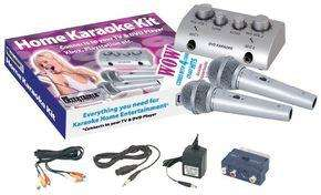 Mr Entertainer G105G Home Karaoke Kit Connects to TV, DVD, PlayStation, Xbox etc - £9.16 Delivered @ Ebuyer