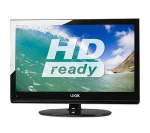 "22"" HD Ready LCD TV with Built-in DVD Player - Black @ Currys = £99.97"