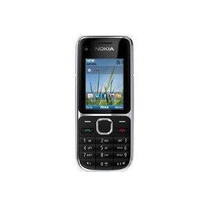 Nokia C2-01 Sim Free Mobile Phone 3G - Black - Amazon £44.95