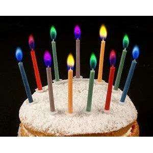 Angel Flames Birthday Candles £1.29 @ Home Bargains