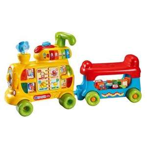 V-Tech Alphabet Train Push and Ride - £25 in-store at Asda